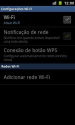 Samsung I9100 Galaxy S II - Wi-Fi - Como configurar uma rede wi fi - Etapa 6