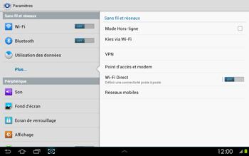 Samsung P5100 Galaxy Tab 2 10-1 - Internet - configuration manuelle - Étape 6