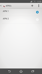 Sony Xperia Z3 Compact (D5803) - Internet - Handmatig instellen - Stap 16