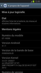 Samsung I9300 Galaxy S III - Appareil - Mises à jour - Étape 6