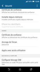 HTC One A9 - Sécuriser votre mobile - Personnaliser le code PIN de votre carte SIM - Étape 5