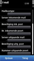 Nokia N8-00 - E-mail - Handmatig instellen - Stap 11
