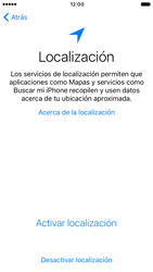 Apple iPhone 6 iOS 10 - Primeros pasos - Activar el equipo - Paso 9