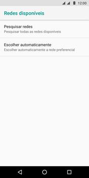 Motorola Moto G6 Play - Rede móvel - Como selecionar o tipo de rede adequada - Etapa 8