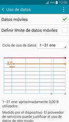 Samsung Galaxy A3 - Internet - Ver uso de datos - Paso 5