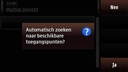 Nokia N97 Mini - MMS - handmatig instellen - Stap 9