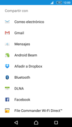 Sony Xperia Z5 Compact - Bluetooth - Transferir archivos a través de Bluetooth - Paso 12