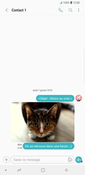 Samsung Galaxy S9 Plus - MMS - envoi d'images - Étape 19