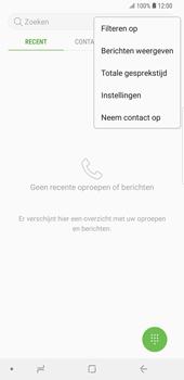 Samsung Galaxy S9 Plus (SM-G965F) - Voicemail - Handmatig instellen - Stap 5