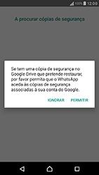 Sony Xperia XA (F3111) - Aplicações - Como configurar o WhatsApp -  13