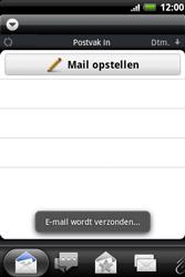 HTC A510e Wildfire S - E-mail - e-mail versturen - Stap 12