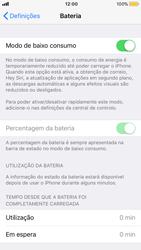 Apple iPhone 8 - Bateria - Modo de poupança -  6