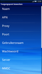 Sony Ericsson Xperia X10 - Internet - buitenland - Stap 8
