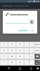 Sony Xperia E5 - Voicemail - handmatig instellen - Stap 9