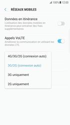 Samsung G925F Galaxy S6 Edge - Android Nougat - Réseau - Activer 4G/LTE - Étape 7