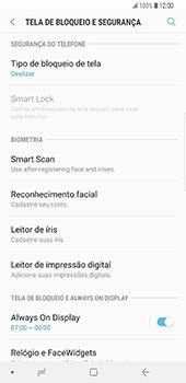 Samsung Galaxy S9 Plus - Segurança - Como ativar o código de bloqueio do ecrã -  5