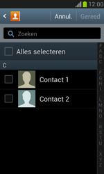 Samsung I8190 Galaxy S III Mini - Contacten en data - Contacten kopiëren van toestel naar SIM - Stap 7