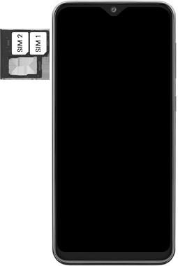 Samsung Galaxy A20e - Device - Insert SIM card - Step 5