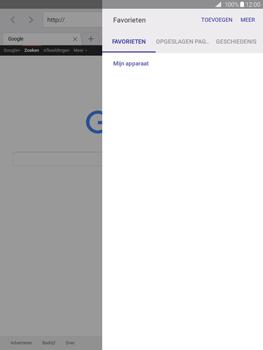 Samsung Galaxy Tab A 9.7 (SM-T555) - Internet - Hoe te internetten - Stap 6