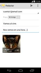 Motorola Moto X (2ª Gen) - E-mail - Escribir y enviar un correo electrónico - Paso 15