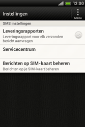 HTC A320e Desire C - SMS - handmatig instellen - Stap 5