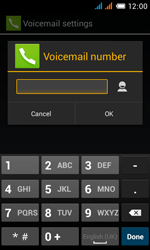 Alcatel OT-4033X Pop C3 - Voicemail - Manual configuration - Step 11