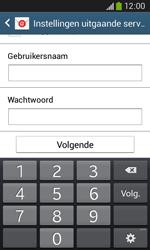Samsung S7275 Galaxy Ace 3 - E-mail - e-mail instellen: POP3 - Stap 15