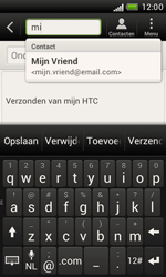 HTC T328e Desire X - E-mail - hoe te versturen - Stap 6