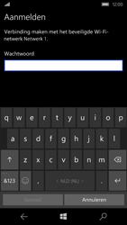 Microsoft Lumia 550 - WiFi - Verbinden met een netwerk - Stap 8