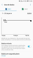 Samsung Galaxy J2 Prime - Rede móvel - Como definir um aviso e limite de uso de dados - Etapa 6