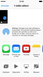 Apple iPhone SE - Photos, vidéos, musique - Créer une vidéo - Étape 10