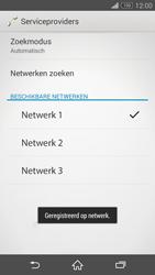 Sony Xperia Z3 Compact (D5803) - Netwerk - Handmatig netwerk selecteren - Stap 13