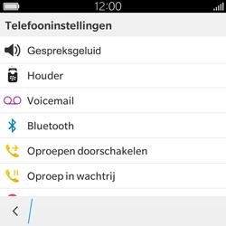 BlackBerry Classic - Voicemail - Handmatig instellen - Stap 6