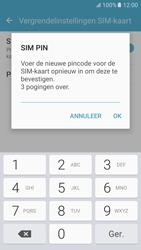 Samsung Galaxy S6 - Android M - Beveiliging en ouderlijk toezicht - Hoe wijzig ik mijn SIM PIN-code - Stap 10
