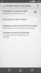 Sony Xperia Z2 - Internet et connexion - Utiliser le mode modem par USB - Étape 9