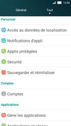 Huawei Y5 - Device maintenance - Retour aux réglages usine - Étape 4