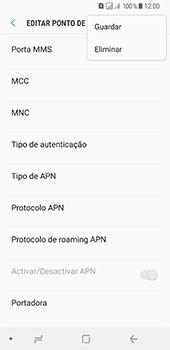 Samsung Galaxy A8 (2018) - MMS - Como configurar MMS -  16