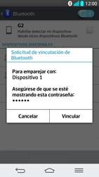 LG G2 - Bluetooth - Transferir archivos a través de Bluetooth - Paso 11