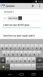 Acer Liquid Jade S - E-mail - E-mails verzenden - Stap 8