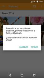 Sony Xperia E5 (F3313) - Bluetooth - Transferir archivos a través de Bluetooth - Paso 13