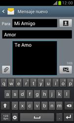 Samsung S7560 Galaxy Trend - Mensajería - Escribir y enviar un mensaje multimedia - Paso 13