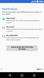 Sony Xperia XZ (F8331) - Android Nougat - E-mail - Manual configuration (outlook) - Step 14