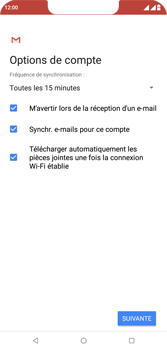 Wiko View 2 Plus - E-mail - Configurer l