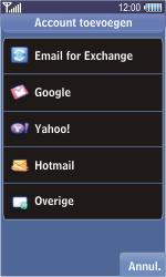 Samsung S8500 Wave - E-mail - e-mail instellen: POP3 - Stap 4