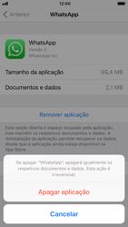 Apple iPhone 8 - Aplicações - Como desinstalar/remover aplicação -  6