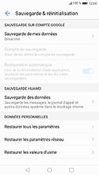 Huawei P8 Lite 2017 - Device maintenance - Retour aux réglages usine - Étape 6