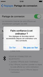 Apple iPhone 5 (iOS 8) - Internet et connexion - Utiliser le mode modem par USB - Étape 8