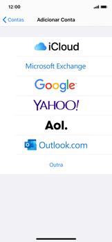 Apple iPhone X - iOS 13 - Email - Como configurar seu celular para receber e enviar e-mails - Etapa 5