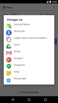 Huawei Google Nexus 6P - Internet - navigation sur Internet - Étape 18
