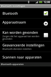 HTC A6363 Legend - Bluetooth - headset, carkit verbinding - Stap 7